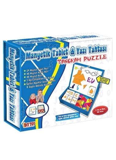 Bunjoy Diy-Toy Yayınları Manyetik Tablet Tangran Eğitim Seti 3445 Renkli
